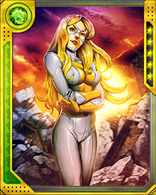 Moonstone hasn't always been a villain. For a while she turned a version of the Thunderbolts into a truly heroic group, and at the same time she carried on a romance with Hawkeye. But once Norman Osborn blackmailed her into joining his Dark Avengers, whatever heroic instincts she might have had weren't seen for quite some time.