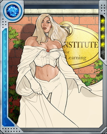 Emma Frost's diamond form isn't just a defensive asset; it also turns her fists and feet into crushing weapons. Few opponents can take a punch from her and stay standing.