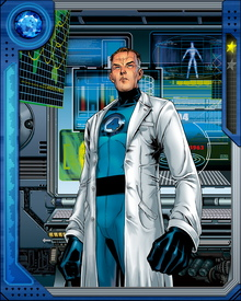 Genius scientist Reed Richards sought to test a space ship of his own design, but during the flight he and the crew were exposed to radiation by cosmic rays and gained powers to become the Fantastic Four.