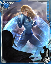 Although she's not always out front in the battles, Susan Storm Richards is unquestionably the glue that holds the Fantastic Four together. She has also played her part in creating the next generation of superheroes, being mother to the incredibly powerful mutant Franklin.