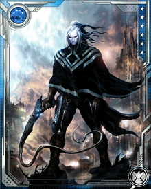 The being now known as Wraith was once a normal Kree boy named Zak-Del, who was sucked through a wormhole into the Exoteric Latitude, also known as the Realm of the Nameless. There he was infected by the Exolon, interstellar parasites who feed on souls. Surviving and rebelling, Wraith killed the leader of the Exolon and escaped the Exoteric Latitude back to normal space.