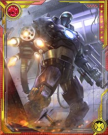 Colonel Rhodes works in concert with Stark International. At one time he was charged with liaison duties between Stark and its affiliated research scientists; since donning the War Machine armor, however, Rhodes' duties have been a little more action-oriented.