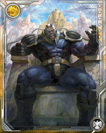 Apocalypse sees himself as the only true savior of mutants, who must be forged by war. Peace is his enemy because he believes it breeds weakness. Only war can determine who is fit to survive and continue the mutant race... although Apocalypse of course believes he is worthy.