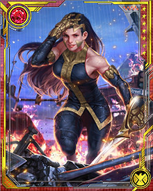 Growing up in a utopian alternate reality, Zarda is at times shocked and saddened by what she sees human beings doing to each other on our Earth. She joined the Squadron Supreme because she felt they were the best way to protect her new home from the worst threats... and maybe show the way to a new Utopia.