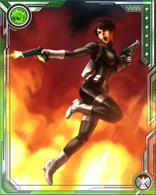 During the Civil War saga, Hill is tasked to arrest any Super Hero who refuses to comply with the Superhuman Registration Act. She subsequently performs her duties with focus and passion. Afterwards, the President appoints Tony Stark the new director of S.H.I.E.L.D., with Maria Hill his acting Deputy Director.
