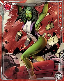 As the She-Hulk, I sometimes have to fight battles using sheer muscle power and hope that, in the heat of the moment, the law is on my side.