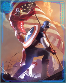After the war was over, Iron Man and Captain America realized that the world needed them fighting together. Civil War had brought out the worst in both of them, and taught them a hard lesson about what it means to be a true hero.