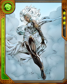 Storm is currently fighting with an all-woman band of X-Men consisting of herself, Psylocke, Rachel Grey, Kitty Pryde, Jubilee, and Rogue. The bridges they built with the Avengers during the return of the Phoenix Force are also not completely burned.