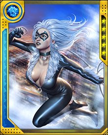 Black Cat joined the Fearless Defenders to help Valkyrie fight the Doom Maidens. That version of the Defenders then went on hiatus, but Felicia built relationships with the team members, including Tigra, Hellcat, and Valkyrie.