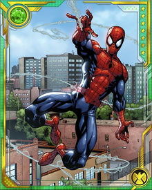 Spider-Man has partnered with heroes such as Daredevil and has become a member of superhero groups such as the Fantastic Four and The Avengers.