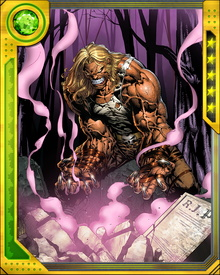 Further modifications after his Weapon X transformation have made Sabretooth both more powerful and more ruthless. His one singular ambition, however, does not appear to have changed: to eliminate Wolverine.