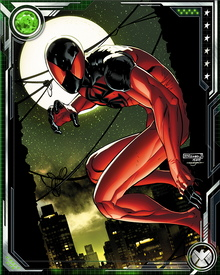 During their first battle, the Scarlet Spider and Spider-Man both became confused as to who was the original and who was the clone. After this battle, the Scarlet Spider wandered lost for five years before beginning to discover the truth of his origin.