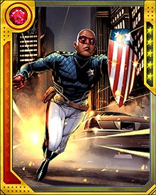 As he has come into his own, Eli Bradley has displayed many of the same physical abilities as his Super-Soldier compatriot Captain America. He is highly resistant to toxins and other drugs, can survive impacts and wounds that would kill normal men, and possesses immense strength and endurance. But the key to his success? Again, as with Captain America, it's willpower.