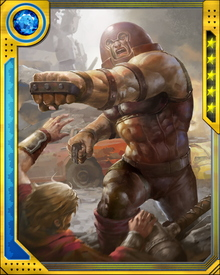 When the Hammers of the Worthy fell to Earth, Juggernaut touched one and was transformed into Kuurth, Breaker of Stone. He defeated Colossus and Magik on his own before joining with the rest of the Worthy as the Serpent gained strength.
