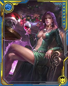 Morgan Le Fay is the powerful sorceress of Arthurian legend. Through her machinations, the era of Camelot came to an end. Using powerful magic, she has sought dominion across time and space, frequently coming into conflict with the heroes and villains of the modern era.