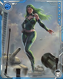 The Polaris of Earth-8149 was rescued at the last moment from a group of Sentinels engineered to hunt and kill her. Her savior? The Timebroker, mysterious force behind the interdimensional band of pacifist heroes known as the Exiles.