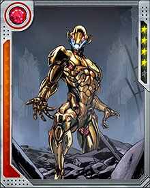 From a base far in the future, Ultron conceived of a plan to project his power back in time, using the Vision to carry out his orders. He created an army of Ultron drones and took over the world, creating the Age of Ultron.