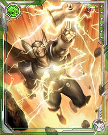The Odinson and I are brothers in arms! Those who threaten Thor shall face my fury as surely as they face his. And if the outrage of one Thunder God is great, the outrage of two will shake the foundations of the Earth itself!