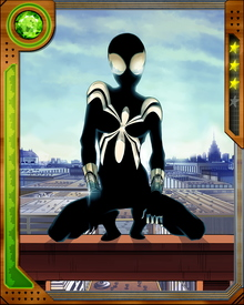 Anya Corazon was mortally wounded during a fight between the Sisterhood of the Wasps and the Spider Society. A Spider Society sorcerer saved her life and in the process bestowed on her a power set similar to Spider-Man's.