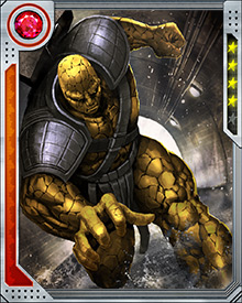 The Kronan called Korg was part of an invasion force that landed on Earth in the distant past. Repelled by Thor, they fled back into space and were drawn through a wormhole to the planet Sakaar. There they were made into gladiators — and in his first fight Korg was forced to kill his brother Margus.