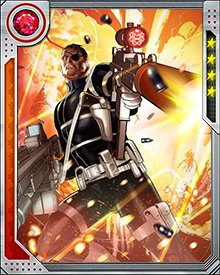 In order to battle both H.A.M.M.E.R. and Hydra, Fury gathered an army comprising loyal S.H.I.E.L.D. agents and disgruntled H.A.M.M.E.R. agents. He also sent Black Widow to infiltrate the Thunderbolts and obtain intel against Osborn.
