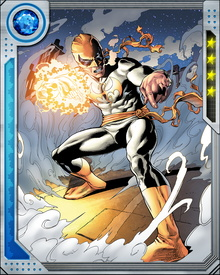 Also through the power of the Iron Fist, Daniel Rand has the ability to focus chi energy inward to heal himself or outward to heal others of injury. In addition, he has shown the ability to telepathically meld with another person's mind, temporarily fusing their consciousnesses together.