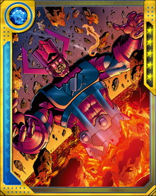 The Guardians of the Galaxy have also stood up against Galactus, sometimes for Earth and sometimes for other planets that most Earthlings do not know exist. His hunger is endless, and he will continue consuming planets as long as any are there to consume.