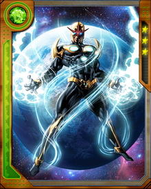 Nova Force is the near-limitless energy source for Nova Corps that only a few selected candidates have the potential to control.