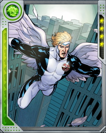Angel and Psylocke became involved again during the reformation of X-Force, and this emotional grounding helped Warren recover from the Archangel episode. She also helped more directly, by implanting him with a Celestial Life Seed.