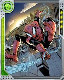 Spider-Man never stays part of a group for very long. When needed, he will join forces with (for example) the Avengers or the Future Foundation, but he always craves his independence. Fighting as part of a group tends to create situations where the needs of the group conflict with his personal sense of right and wrong.