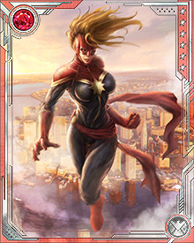 When Carol Danvers was still known as Ms. Marvel, she once lost her powers after a difficult battle with Rogue, who took her memories as well. Though her memories were restored, her powers were not. Despite this, she still accompanied the X-Men on missions, relying on her augmented human/Kree genetic structure to fight.