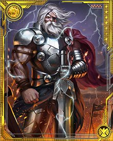 Old King Thor has seen the rise and fall of other gods beyond number. Now he alone of Asgard's gods still remains, and he alone can protect Asgard's treasures from those who would use them for evil.