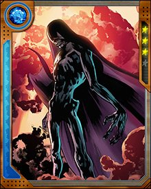 Despite her grim personae, Death has engaged in more than one game of chance with other powerful beings. During one such game, she and the Grandmaster summoned every living superhero from the planet Earth to engage in a Contest of Champions.