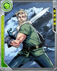 Like his comrades, Fandral is the master of many weapons. His favored weapon is the sword, and he is one of the best swordsmen in all the realms.