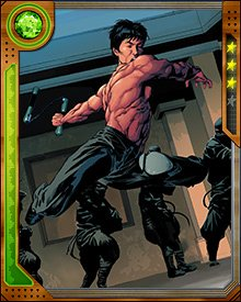 Shang-Chi understands that his fighting skills are a defensive art. He never starts a fight without good reason, but whenever he enters a battle, he ensures that he is the last man standing.