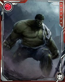 The Hulk possesses the potential for limitless physical strength depending directly on his emotional state.  When he is enraged, his power and regenerative abilities approach levels few immortals can match.