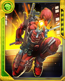 Deranged by his Weapon X experience as well as other experiments performed on him and the constant barrage of violence his body has suffered, Deadpool is prone to inappropriate and nonsensical speeches. Chimichanga!