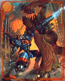 It's the fight to end all fights—Robo-Rocket versus Grootzilla—with Earth's fate hanging in the balance!