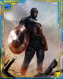 During the superhero Civil War, Captain America led a band of resistance fighters against Iron Man's pro-registration forces. In the end, he surrendered when he realized that the war was destroying the heroes' ideals and costing innocent lives.