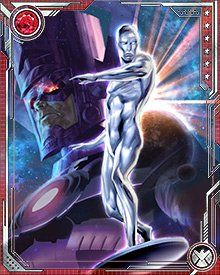 The Silver Surfer has rebelled against Galactus on a number of occasions, but they have also come together to battle threats to them both.