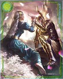 Odin and Frigga rule Asgard side by side. While Odin is the ultimate king of gods, he holds Frigga's counsel dear. At times, when Odin could not sit upon the throne, Frigga has taken his place.