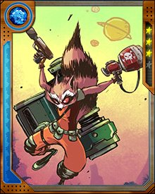 Rocket Raccoon bonded with Groot right away, when they were conscripted for Star-Lord's anti-Phalanx strike force. It was probably also a matter of necessity, since all of his ordnance wasn't going to be much use without a platform.