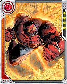 With the help of Deadpool, Doc Green subdued the Red Hulk and transformed him back to Thunderbolt Ross. But the transformation wasn't permanent, and Red Hulk still burns with both radioactivity and the limitless furnace of his rage.
