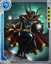 Doctor Strange is one of the most powerful sorcerers in the Universe and can use many mystic forces including dimension travel and astral projection.