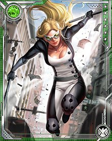 During an attempt to capture Superia, one of Norman Osborn's Dark Avengers, Mockingbird was shot and critically wounded. The New Avengers decided to take desperate measures: injecting her with a variation of the Super Soldier serum that had created Captain America, enhanced with the Infinity Formula.