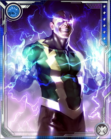 Electro's powers have developed over the years, and he can now store enormous amounts of power. His physical strength and durability also increase as he stores more electricity, making him doubly difficult to fight once he has tapped into an electrical source. He has even demonstrated the ability to electrically influence the minds of his enemies.