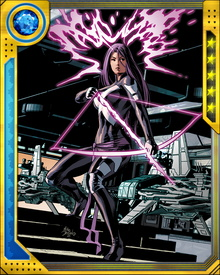 Psylocke (along with Deadpool, Fantomex, and Archangel) was among those selected by Wolverine to become a member of the new X-Force on one condition: that no one would learn of the team's existence or activities.