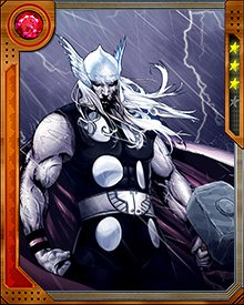 It's not easy being a clone. Especially when you're a clone of the Asgardian God of Thunder, by Odin's beard! No wonder Ragnarok has such a huge chip on his mechanical shoulder.