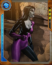 Marie-Ange Colbert has the mutant power to create and control psionic constructs derived from the classic Tarot deck. It is unknown whether her powers are linked to the idea of the tarot, or whether she simply prefers to use them that way.