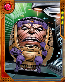 MODOK cloned his brain several times and used those brains as a core of a supercomputer. It was destroyed but one of the brains survived and rebuilt a new MODOK calling itself MODOK Superior. This new MODOK fought the Avengers before declaring a temporary truce to combat the forces of the Serpent.